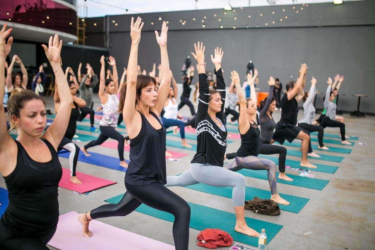 Festival Path 2018 Aula de Yoga