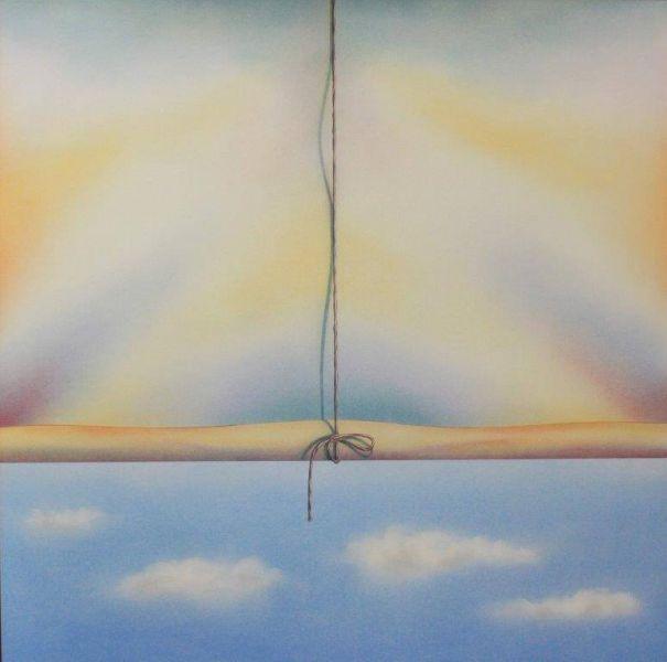 """""""Cortina com Nuvens"""" (2018)."""