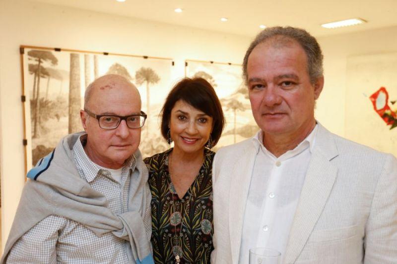 Carlos Eduardo Zimmermann, Zilda Fraletti e Francisco Faria. (Foto: Valterci Santos)