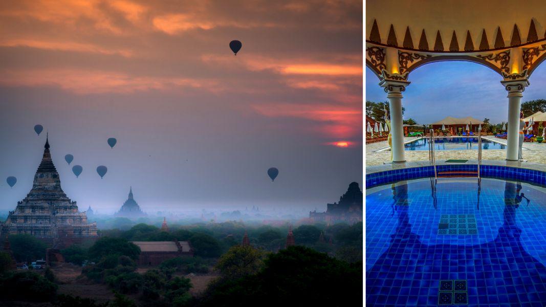 Quer casar comigo? 5 lugares no mundo para pedir em casamento Balões sobre Bagan, Mianmar (Fotos: Divulgação/Booking.com)