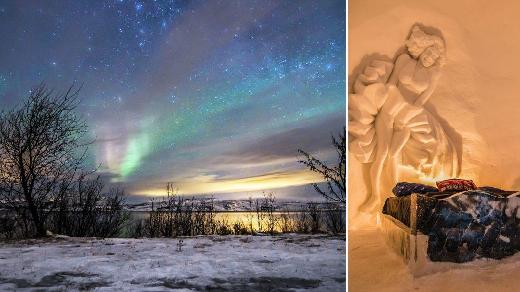 Quer casar comigo 5 lugares no mundo para pedir em casamento Booking.com - Kirkenes Snowhotel, Noruega
