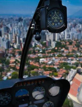Airbnb dá 10 dicas inusitadíssimas de presente para Dia dos Pais Passeio de Helicóptero (Foto: Arquivo Airbnb)