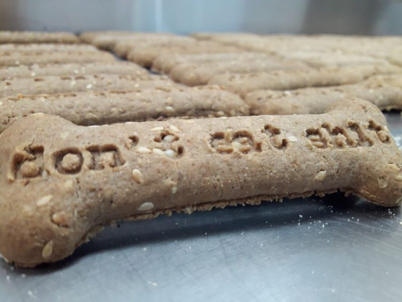 WhataFuck Dogs: Lojas oferecem biscoito canino sabor hambúrguer ?