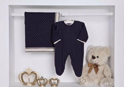 Criança à vista? Ane Kids indica 12 presentes para Chá de Bebê Saída Maternidade Azul Poá 269,90