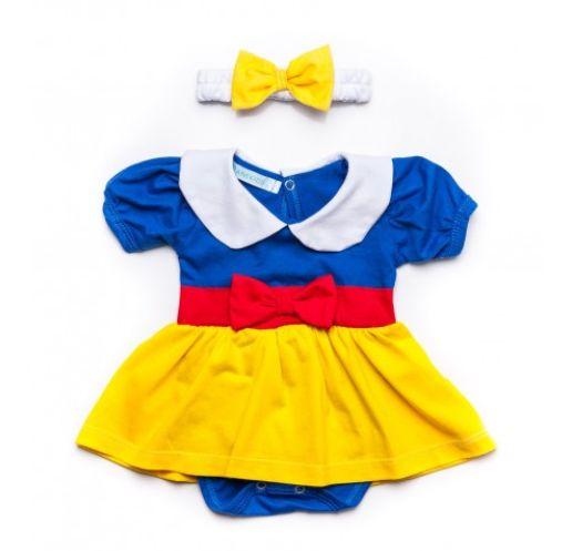 Criança à vista? Ane Kids indica 12 presentes para Chá de Bebê Vestido Amarelo E Azul 135,90