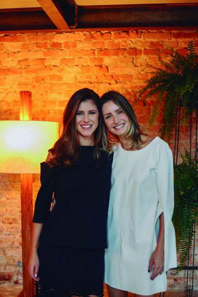 Finalistas do Prêmio TOPVIEW Personalidade de Design 2018 Patrícia Backes e Claudia Guimarães